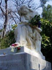 CLESINGER, Tombe de Chopin, Père-Lachaise
